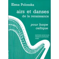 Polonska Elena - Airs & danses de la renaissance (harpe celtique)