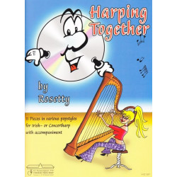 Rosetty and De Ruiter - Harping together (Cd by Rosetty) (harpe classique ou celtique)