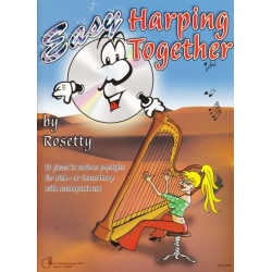Rosetty and De Ruiter - Easy harping together (Cd by Rosetty)