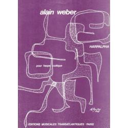 Weber Alain - Harpalpha pour harpe celtique