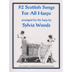 Woods Sylvia - 52 Scottish songs for all harps
