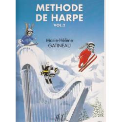 Gatineau Marie-Hélène - Méthode de harpe vol. 2