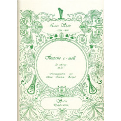 Spohr Louis - Fantaisie for harp op.35 (Zingel Hans Joachim)