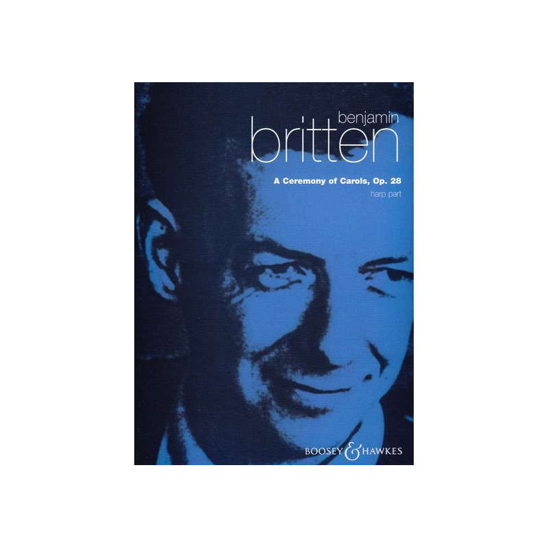Britten Benjamin - A Ceremony of Carols, Op.28 - harp part