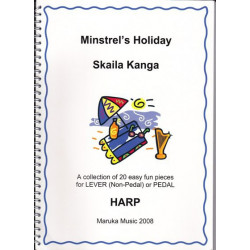 Kanga Skaila - Minstrel's Holiday 20 easy fun pieces for lever or pedal harps