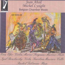 CD - Jean Absil - Michel Lysight - Belgian Chamber Music