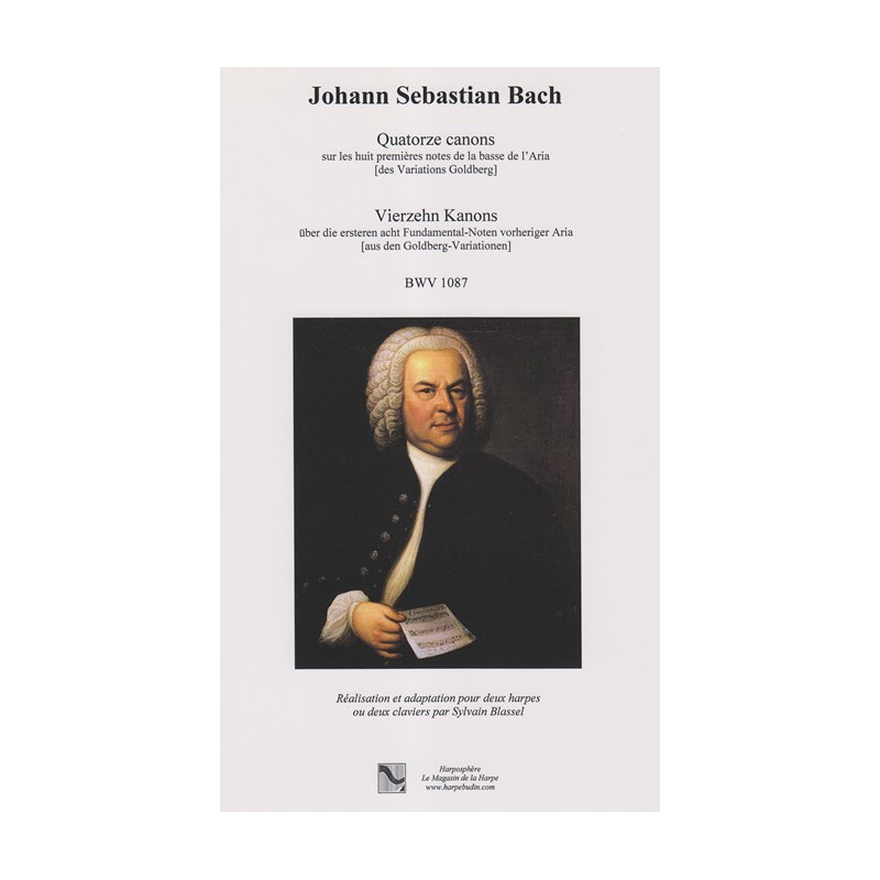Bach Johann Sebastian - 14 canons BWV 1087 (2 harpes ou 2 claviers)