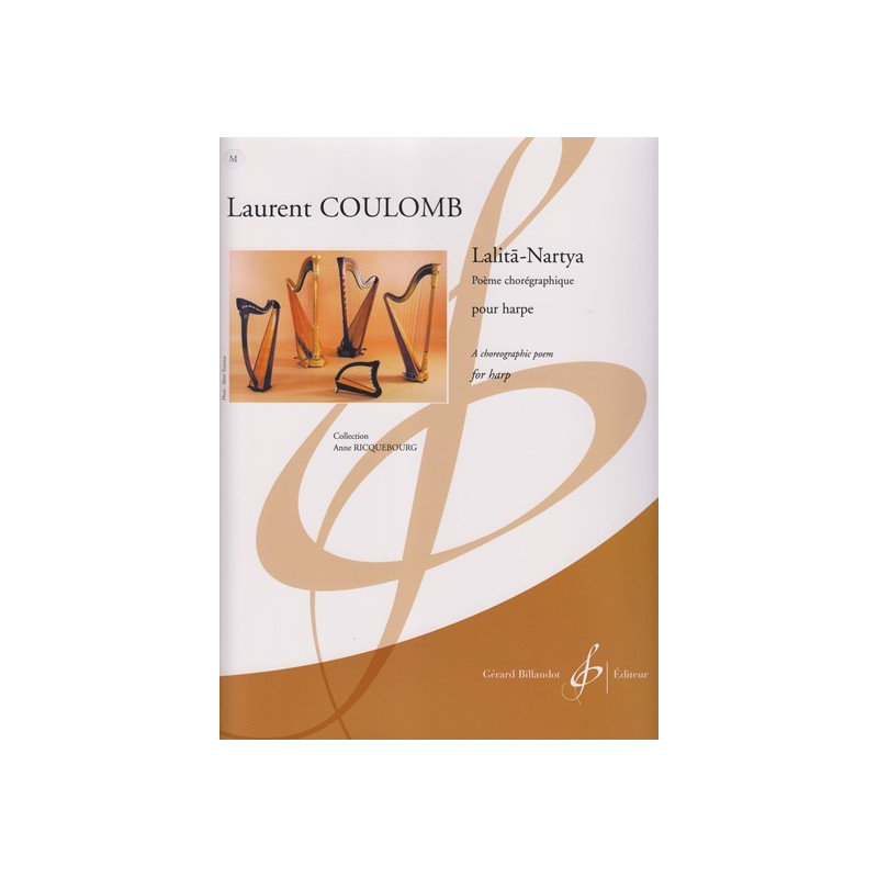 Coumom Laurent - Lalita-Nartya (for harp)