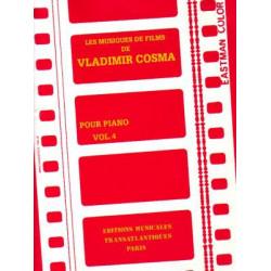 Cosma Vladimir - Les musiques de film vol. 4 (piano)
