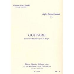Hasselmans Alphonse - Guitare op. 50 Pièce caractéristique pour
