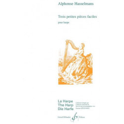 Hasselmans Alphonse - 3 Petites pièces faciles (Billaudot)