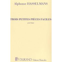Hasselmans Alphonse - 3 Petites pièces faciles (Durand)