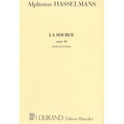 Hasselmans Alphonse - La source op. 44 - étude pour harpe