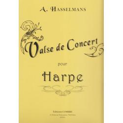 Hasselmans Alphonse - Valse de concert pour harpe