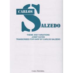 Haydn Joseph - Salzedo Carlos - Thème & variations