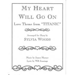 Horner James - Thème du film TitanicArranged for harp by Sylvia Woods