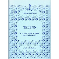 Houdy Pierick - Telenn, sonate pour harpe sans pédales