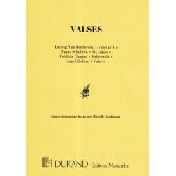 Divers auteurs - Valses de Beethoven, Schubert, Chopin, Sibelius