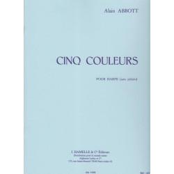 Abbott Alain - Cinq couleurs (harpe celtique)