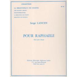 Lancen Serge - Pour Raphaele