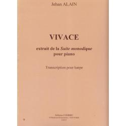 Alain Jehan - Vivace, de la suite monodique