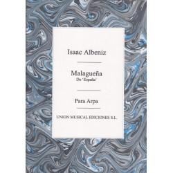Albeniz Isaac - Malaguena de España para arpa