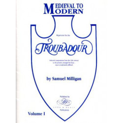 Milligan Samuel - Medieval to modern vol.1 (celtic harp - harpe troubadour)