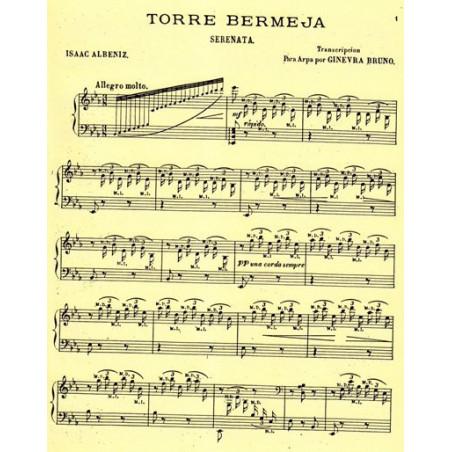 Albeniz Isaac - Torre Bermeja para arpa (Ginevra Bruno)
