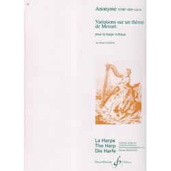Mozart Wolfgang Amadeus - Variations sur un thème de Mozart (har