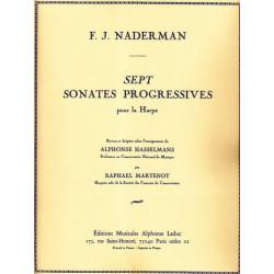 Naderman François-Joseph - 7 Sonates progressives