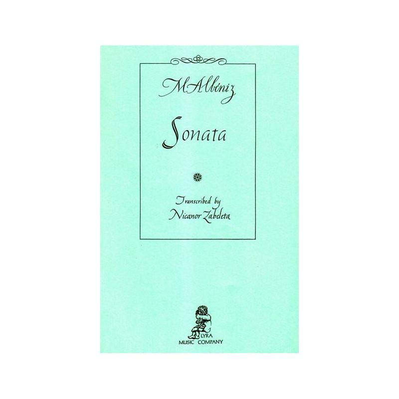 Albeniz Mateo - Sonata (Zabaleta Nicanor)