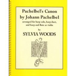 Pachelbel Johann - Canon (harp solo, harp duet and harp and flute)Sylvia Woods