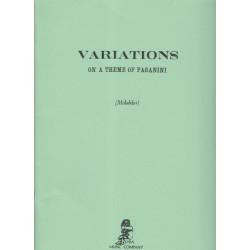 Mchedelov M. - Variations sur un thème de Paganini