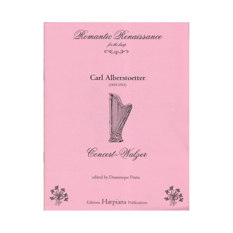 Alberstoetter Carl - Concert walzer - Valse de concert
