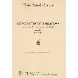 Parish Alvars Elias - Introduction & variations sur la Norma