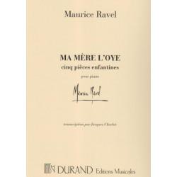 Ravel Maurice - Ma mère l'oye (piano)