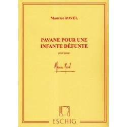 Ravel Maurice - Pavane pour une infante défunte (piano)