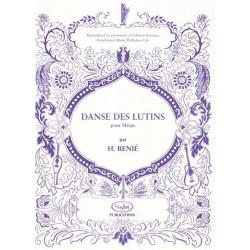 Renié Henriette - Danse des Lutins (pour harpe)