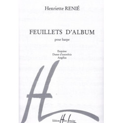Renié Henriette - Feuillets d'album