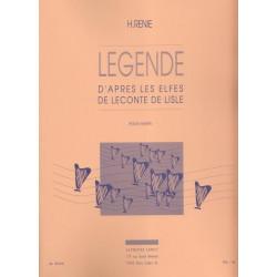 Renié Henriette - Légende d'après les Elfes de Leconte de Lisle