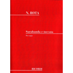 Rota Nino - Sarabande & toccata per arpa