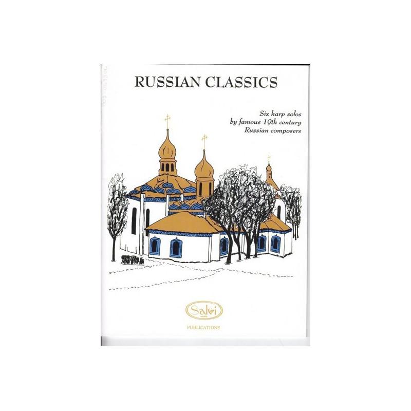 Divers auteurs - Russian classics - 6 Harp solos