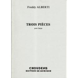 Alberti Freddy - Trois pièces pour harpe