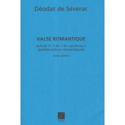 Séverac de Déodat - En vacances Valse romantique (piano)