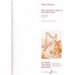 Thomas John - The minstrel's adieu to his native land  (Les adieux du ménestrel à son pays natal)(Martine Géliot)