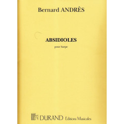 Andrès Bernard - Absidioles (pour harpe)