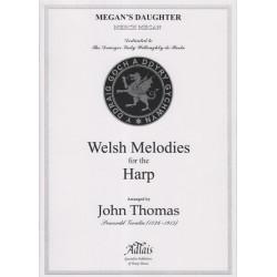 Thomas John - Welsh melodies for the harp Merch Megan