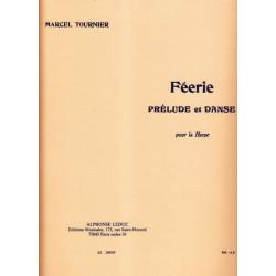 Tournier Marcel - Féerie, prélude & danse pour la harpe