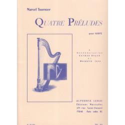 Tournier Marcel - 4 Préludes Op. 16