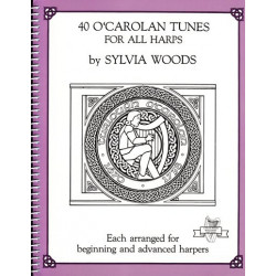 Woods Sylvia - 40 O'Carolan tunes